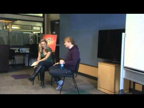 Ed Sheeran Q & A Portland August 2013