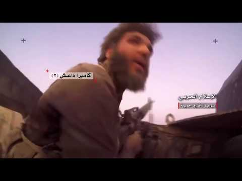 Terrorists get hit by SAA tanks live at Deir-Ezzor