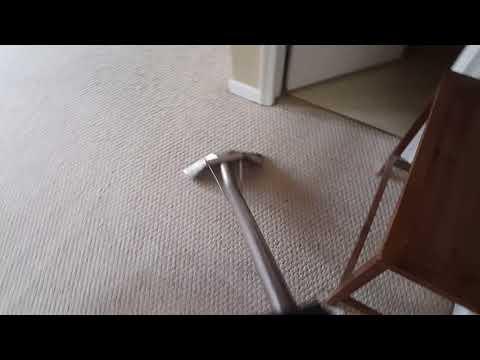 Carpet cleaning on Berber.