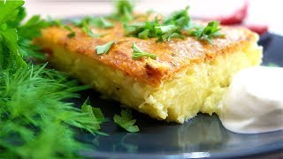 Запеканка картофельная Очень вкусная и нежная