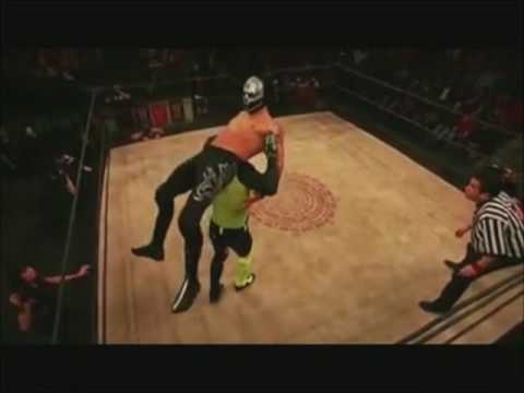 Angelico Ivelisse and Son Of Havoc vs Disciples Of Death Lucha Underground Highlights