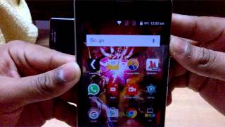 242) How to show battery % on YU Yuphoria android status bar at top