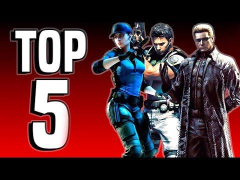 Top 5 Best Resident Evil Games