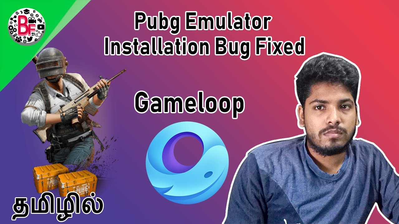 PUBG Emulator Installation Bug Fixed (2020) தமிழில்