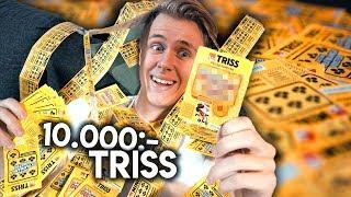 SKRAPAR TRISS FÖR 10.000 KRONOR