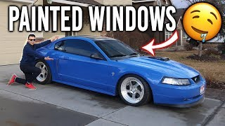 Painted Windows! a.k.a 5% window tint