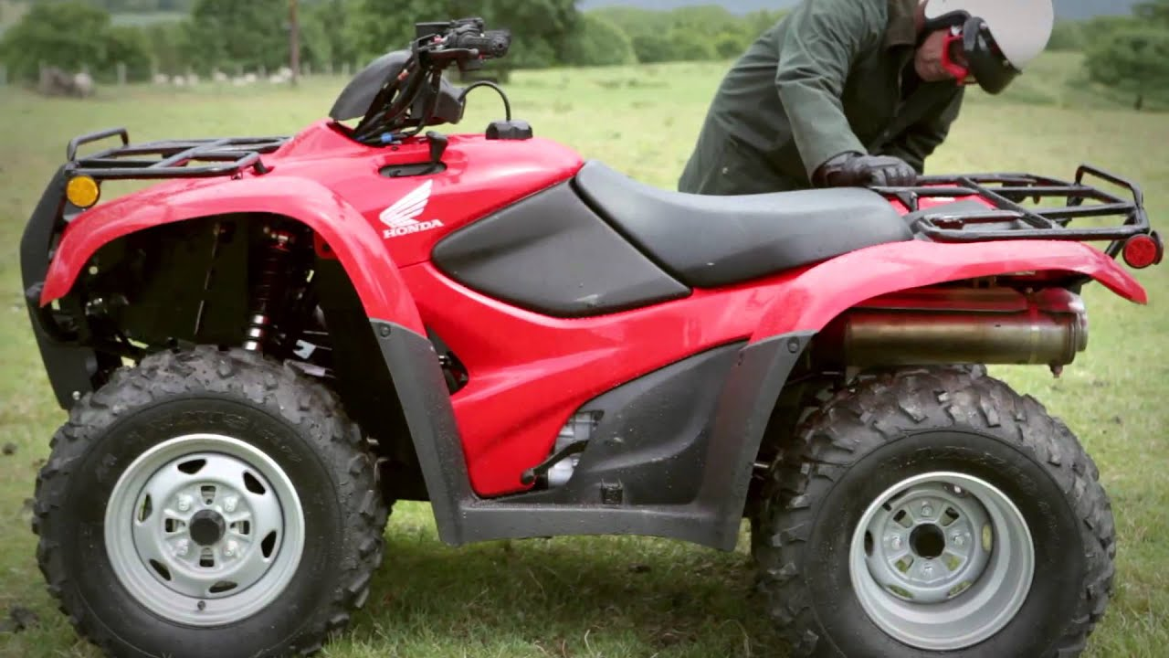 How To Stay Safe And Sound On A Honda Atv Youtube