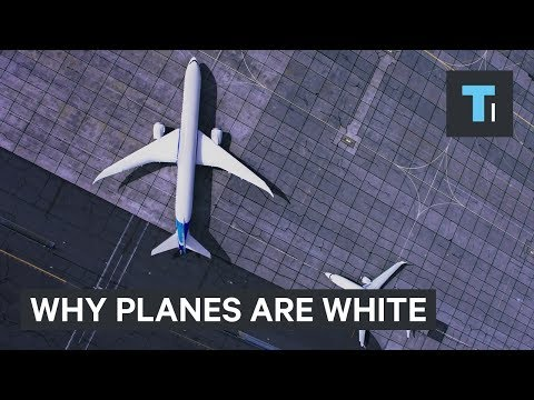 Thumbnail: Here's why most planes are white