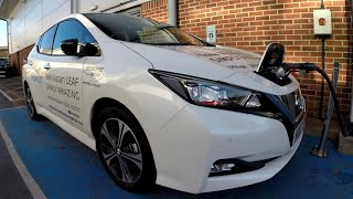 2018 Nissan Leaf 1st Test Drive & Review