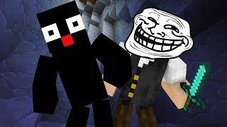 Minecraft Reverso #12: ENCONTREI A BASE DE UM REVERSO E TROLLEI ELE!!!