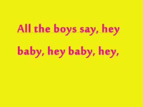 Hey Baby- No Doubt Karaoke with Lyrics