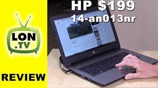 HP $199 - 14-an013nr vs. HP Stream 14 - Best low cost laptop of 2016