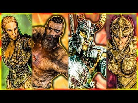 Skyrim - How Every Race was Created - Elder Scrolls Lore