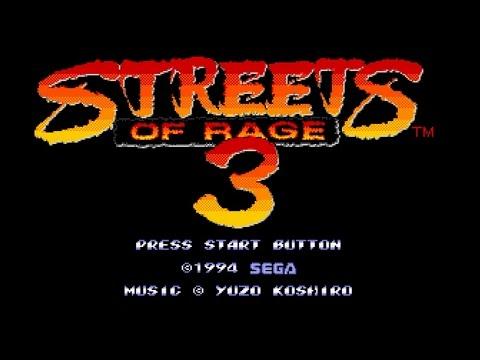 Streets of Rage 3 Walkthrough - Sega Genesis - 60fps, 1080p