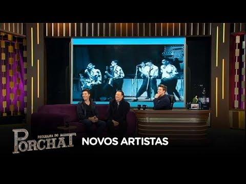 Raul Gil relembra artistas que lançou na Record TV