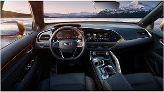 Geely FY11 - interior pics of new coupe SUV revealed | CAR NEWS 2019