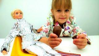 Маша открыла салон красоты для Барби. Приключения Барби - Мультики для девочек