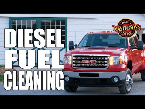 How To Clean Diesel Fuel Residue - GMC Sierra 3500 - Masterson's Car Care