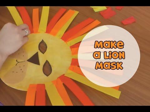Make a lion mask! | Make it Yourself (s01e2)