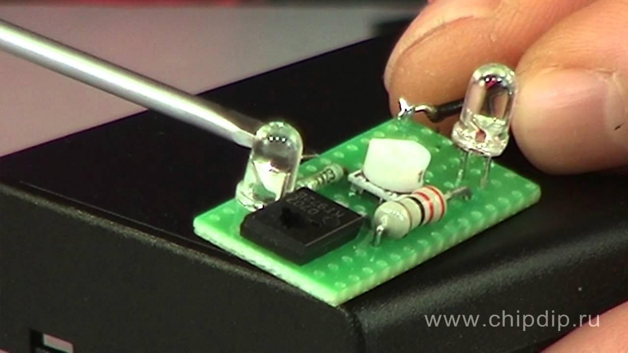 Автоматический выключатель освещения своими руками