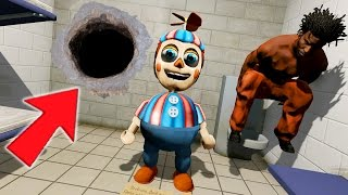 BALLOON BOY BREAKS OUT OF JAIL! (GTA 5 Mods For Kids FNAF Funny Moments)