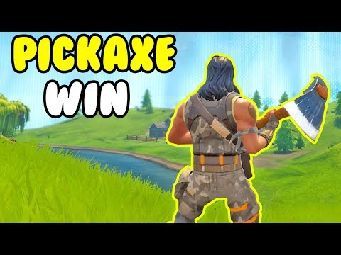 WINNING With A PICKAXE! ⚒️ Fortnite LIVE ⚒️