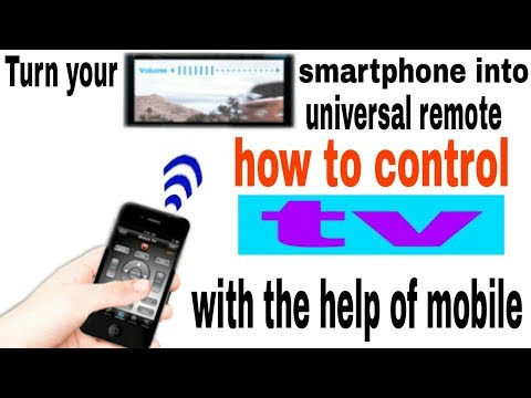 """how to control television by your mobile best trick"""" """"by techno mobile Guruji"""