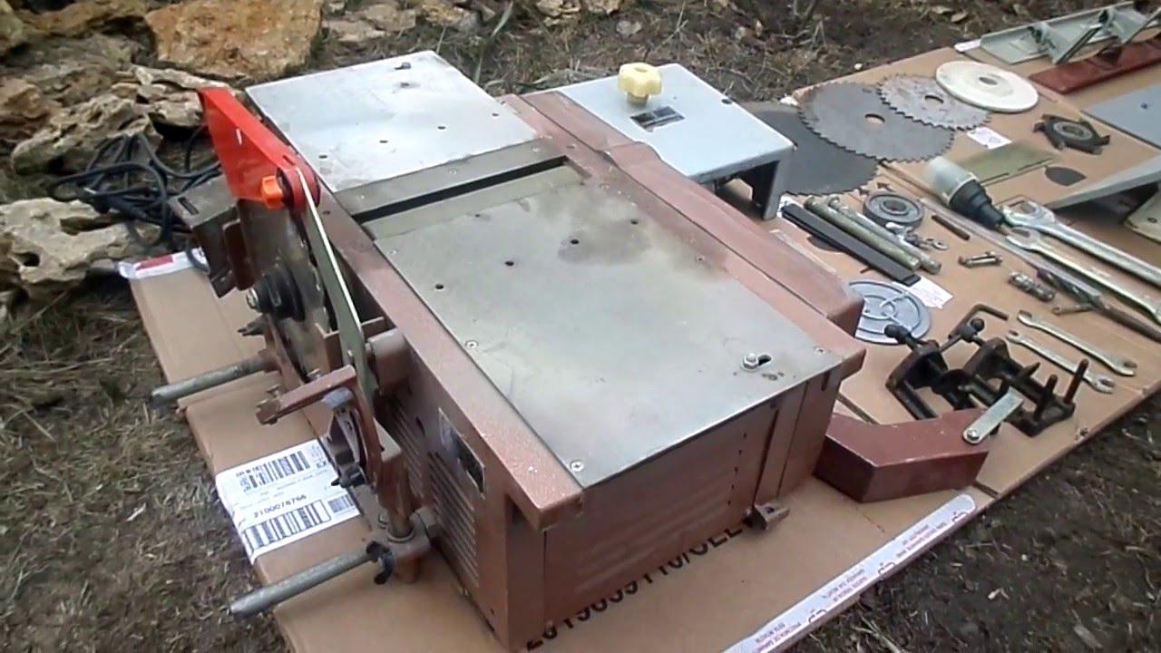 машина деревообрабатывающая ИЭ-6009А - YouTube