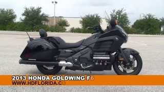 used 2013 honda goldwing f6b motorcycles for sale jacksonville fl