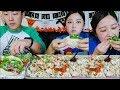 x3 Chipotle Burrito Bowl + x4 Tacos Mukbang!!