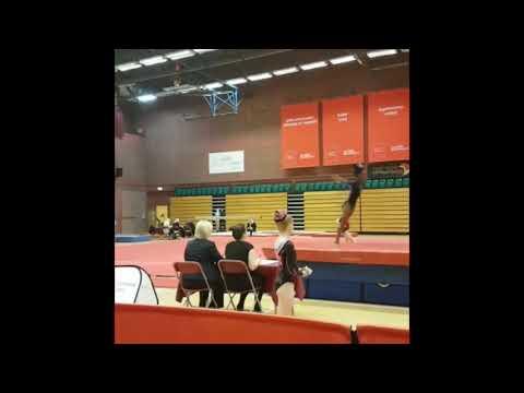 Introducing Mercedes from Capital Academy Artistic Gymnastics Team