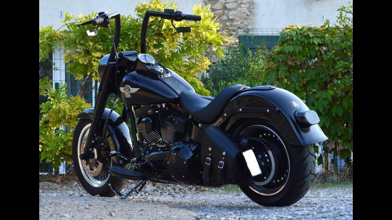 Harley Davidson Slim >> 2016 Harley Davidson FLSTFBS Fatboy S 110 Screamin Eagle Walkaround #2 - YouTube