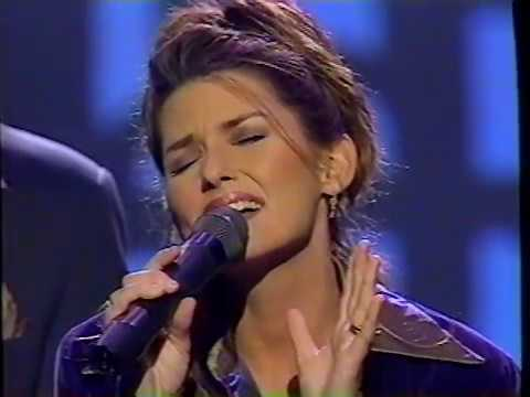 Shania Twain and Take 6 - God Bless the Child (Live on the 1996 CMAs)