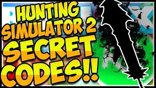 🔫SECRET CODES HUNTING SIMULATOR 2🔥Hunting Simulator 2 Roblox🔫