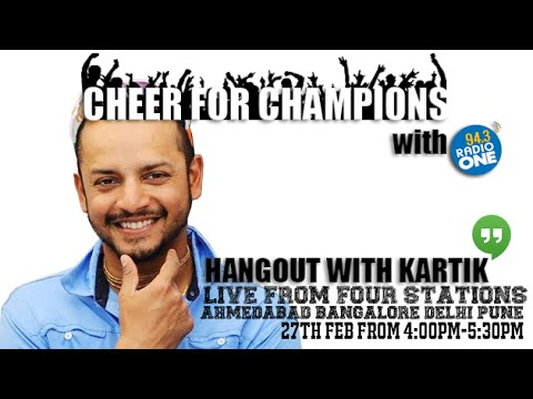 Murali Kartik Hangout | Cheer For Champions with 94.3 Radio One