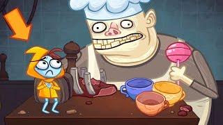 Правильное прохождение Troll Face Quest Video Games 2! Тролинг видео игр 1-16 уровень!