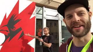 vlog burza flake walk and talk gwent open 8 gwent