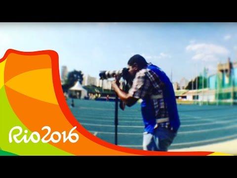 El primer fotógrafo ciego en cubrir unos Juegos Paralímpicos