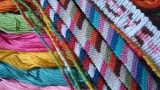 Первый Видео Урок основные узлы для плетения ФЕНЕЧЕК
