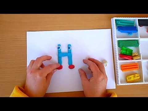 2 клас. Мистецтво. Ліпимо буквицю з пластилін