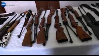 الجيش يحجز كمية من المتفجرات والأسلحة والدخيرة بسيدي بلعباس