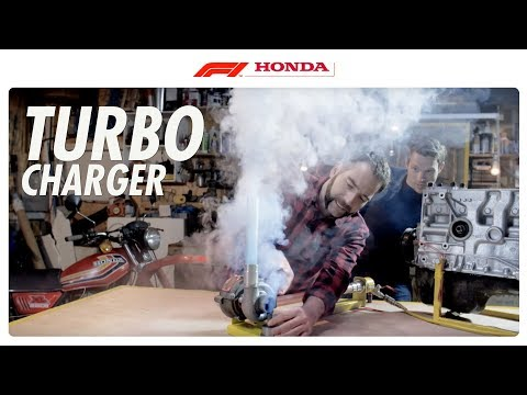 Turbocharger: Self-Powered Boost I The F1 Power Unit I Honda F1 2016