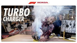 Turbocharger: Self-Powered Boost I The F1 Power Unit I Honda F1 2016