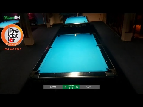 BilliardON.com Live Streaming Prototype - Promoted by Vladimir Ilievski - Sarajevo Liga Kup 2017