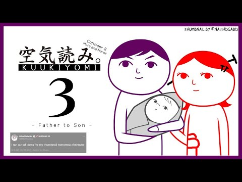 【KUUKIYOMI 3: Father to Son】becoming the worst person ever【NIJISANJI ID   Mika Melatika】