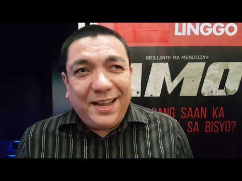 AMO Mini Series by Brilliantes about Operation Tokhang:  Cast Interview with Apollo Abraham