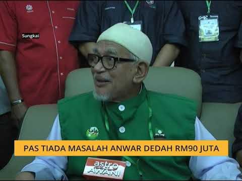 Pas tiada masalah Anwar dedah RM90 juta
