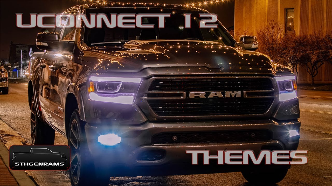 Long-Term 2019 Ram 1500 Laramie Sport: Uconnect 12 Themes