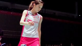2018日羽赛大堀彩场边视角混剪 Aya Ohori Slow Motion Nice Camera( Badminton Japan open 2018)