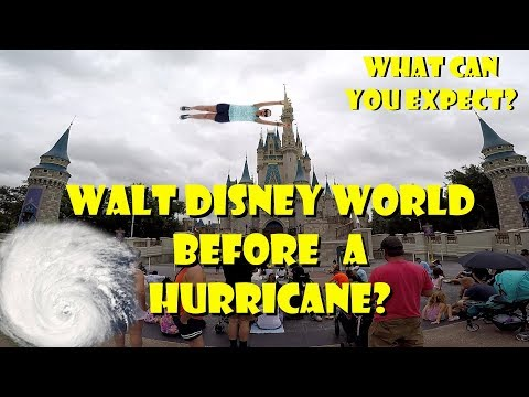 Walt Disney World Magic Kingdom Day Before A Hurricane Visit, What You Can Expect & Our Trip!